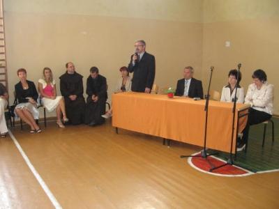 rozpoczęcie roku szkolnego 2008/2009